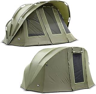 Lucx® Bobcat Bivvvy vinterhud 1 till 2 mannens fisketält överwrap 2 personer karptält överkast sportfisketält skinn campin...