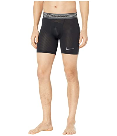 Nike Pro Breath Shorts (Black/Black/Dark Grey) Men