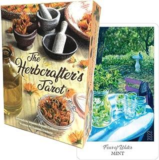 タロットカード 78枚 タロット占い 【 ハーブクラフターズ タロット The Herbcrafter's Tarot 】日本語解説書付き [正規品]