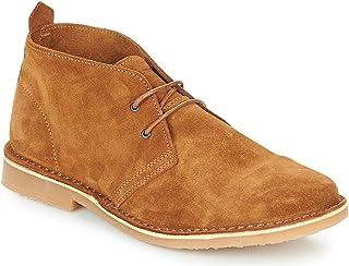 Jack & Jones Men's Gobi Suede Cognac Brown Classic Desert Boot Size 7