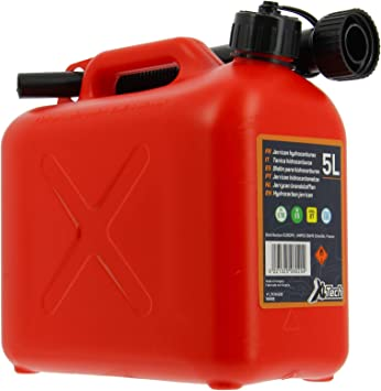 Cartec 506020 Approved Jerry Can for 5 L Fuel: image