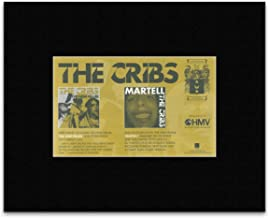 Cribs - New Fellas & Martell Mini Poster - 13.5x21cm