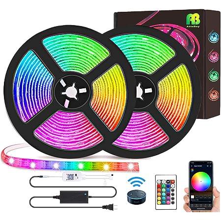 50FT LED Strip Lights 5050 RGB LED Remote Room TV Party Bar Fairy Light 15M Kits
