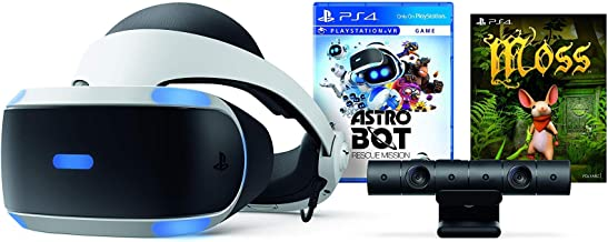 PlayStation VR - ASTRO BOT Rescue Mission + Moss Super Bundle: PlayStation VR headset, PlayStation Camera, Demo Disc 2.0, ASTRO BOT Rescue Mission + Moss
