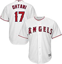 Outerstuff Shohei Ohtani Los Angeles Angels MLB Majestic Youth White Home Cool Base Replica Jersey (Size X-Large 18-20)