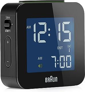 Braun博朗无线电闹钟 BNC008 黑色 L 1,9cm, B 5,7cm, H 5,7cm