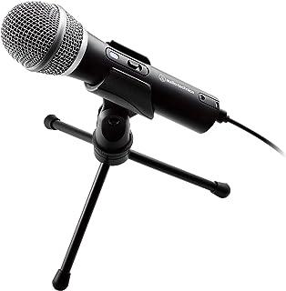 audio-technica USB マイクロホン テレワーク/在宅勤務/生放送/録音/ポッドキャスト/実況 ブラック ATR2100x-USB