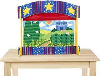 Tabletop Puppet Theatre - Sturdy Wooden Construction