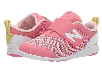 New Balance Kids IO223v1 (Infant/Toddler) (Pink/Yellow) Girls Shoes