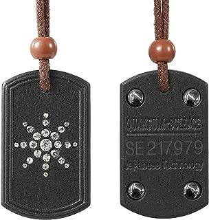 Anti EMF Radiation Protection Pendant Energy Scalar Quantum Bio Science Negative Ions Pendant Necklace Electromagnetic Field Protection
