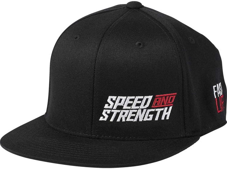Speed & Strength Racer Snapback Fast Life Hat Black
