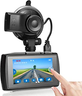 Máy thâu hình đặt trên xe ô tô – Dash Cam, Z-Edge T3 3″ Touch Screen Full HD 1080P Dash Camera for Cars with GPS, Sony Sensor, Super HDR Night Vision, 4 Preset Optimized Setting, G-Sensor, Parking Monitor, Loop Recording, 128GB Max
