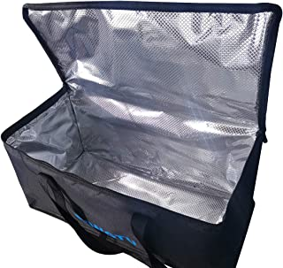 """RONGTU Insulated Food Delivery Bag Large Catering Bags for Cold and Hot Flexible Food Warmers Waterproof Reusable Easy to Clean Grocery Shopping Bags - 22""""X10"""" X10"""""""