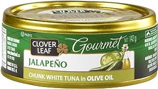 Clover Leaf Flavoured Chunk White Tuna, Jalapeno, 12 Count