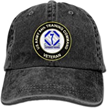 US Army 84th Training Command Unit Crest Veteran Adjustable Washed Twill Baseball Cap Dad Hat