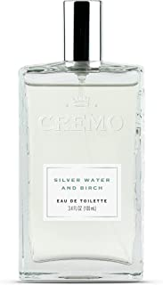 Cremo Cologne Spray, Sliver Water & Birch, 3.4 Ounce