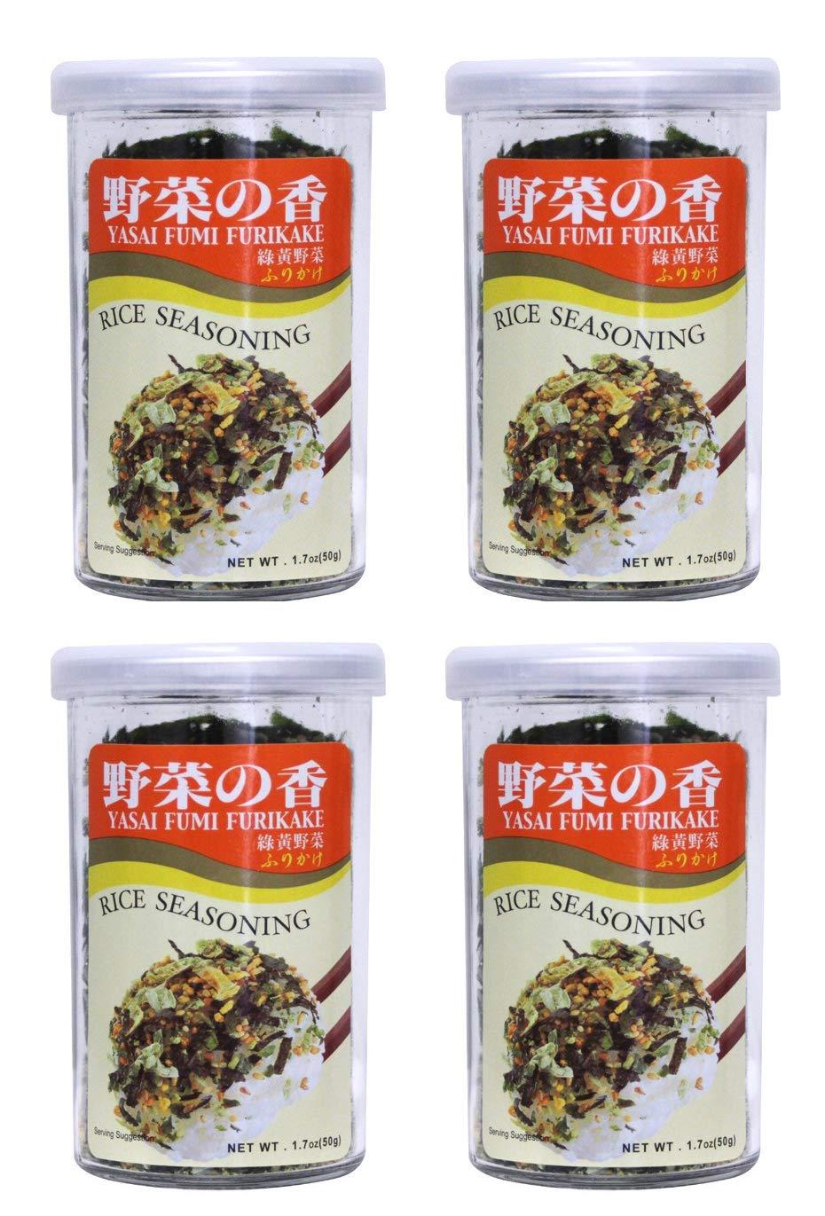 Rice Seasoning Furikake 1.7 Tucson Mall oz Fumi 4 Packs Yasai cheap