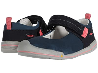 Keen Kids Sprout Mary Jane (Toddler) (Dress Blues/Sugar Coral) Girl