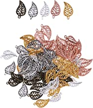 100pcs antique silver color 32x13mm metal leaf foliage pendant charm handmade craft jewelry making DIY finding earring necklace drop AM219