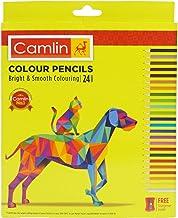 Camlin Kokuyo 4192567 24-Shade Full Size Colour Pencil Set (Assorted)