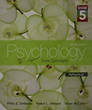 Psychology: Core Concepts with DSM-5 Update Plus NEW MyPsychLab with Pearson eText -- Access Card Package (7th Edition)