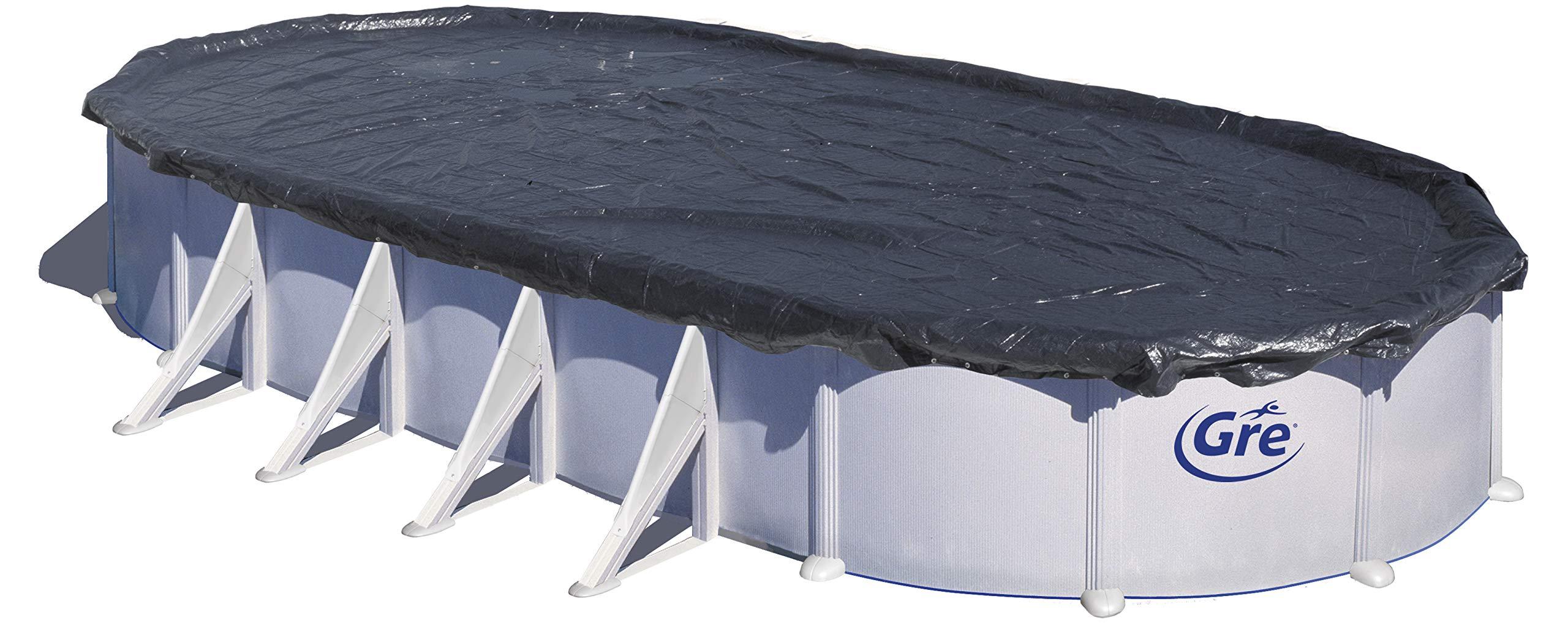 Gre CIPROV911 - Cobertor de Invierno para Piscina Ovalada de 915 x ...