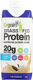 Orgain Whey Protein Shake Vanilla Bean, 11 oz