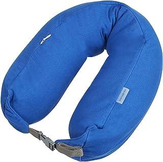 Global Travel Accessories - 3 In 1 Microbead Almohada de Viaje 77 Centimeters 1 Azul (Midnight Blue)