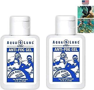 Aqua Lung America 2 Bottle of Crystal Clear Vision Anti-Fog Solutions for Dive Mask Swim Scuba Snorkel Mask Beach Vacation غواصی غواصی اسنورکلینگ سفر استخر کیسه ورزشی قفسه مدرسه