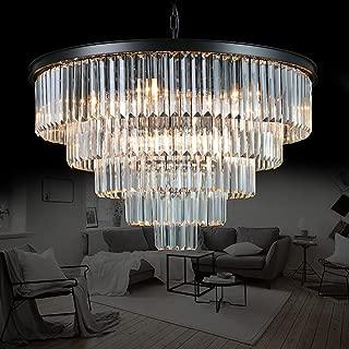 Meelighting Luxury Modern Crystal Chandeliers Lighting Contemporary Pendant Chandelier Ceiling Lamp Lights Fixture 5-Tier (16 Lights) for Dining Room Living Room Hotel