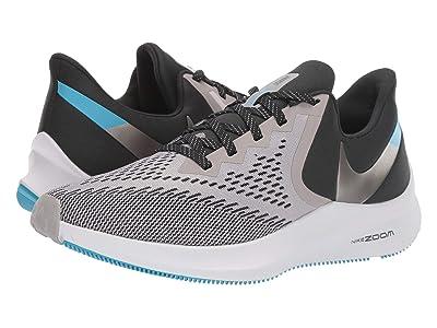 Nike Air Zoom Winflo 6 (Atmosphere Grey/Metallic Pewter/Off-Noir) Men