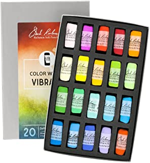 Jack Richeson 422950 Hand Rolled Soft Pastels Color Wheel: Vibrant (20 Piece Set)