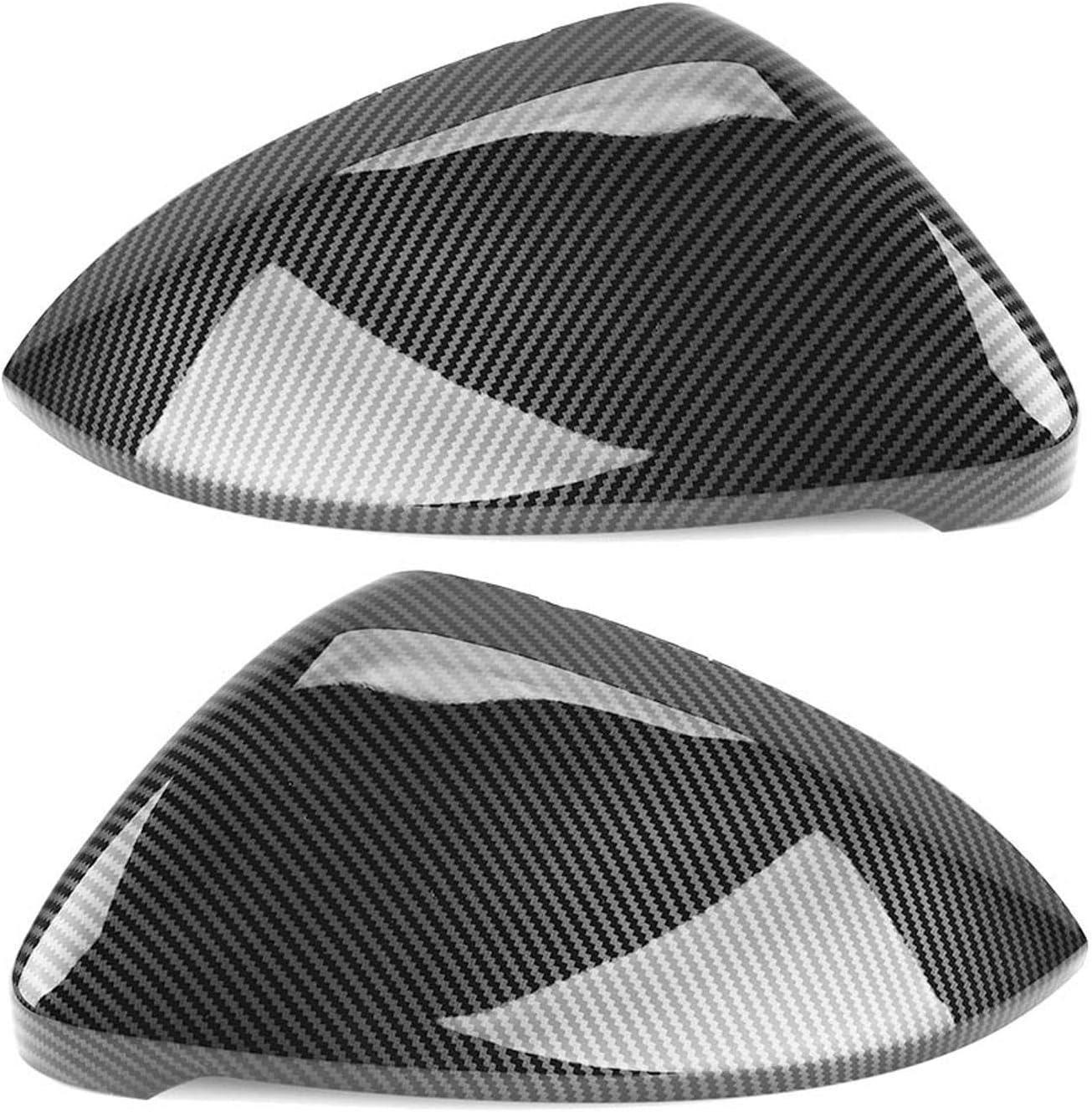 ATMASDO Carbon Fiber Pattern Philadelphia Mall Rearview Mirror Case OFFicial shop for G Cover VW