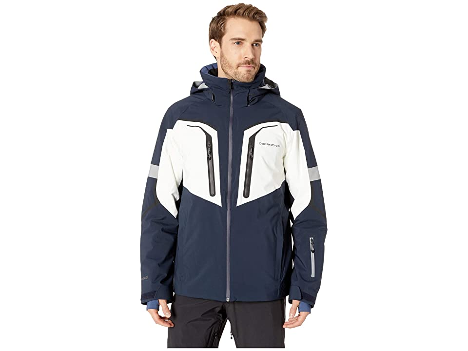 Obermeyer Charger Jacket (Nocturnal Blue) Men