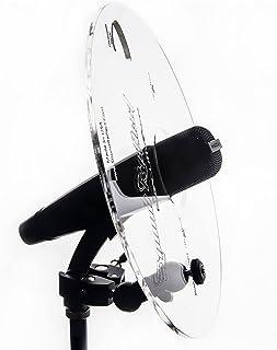 "Sponsored Ad - Sound Reflect Executive Pro Series Sound Shield for Horns – 10.5"" Diameter Heavy Duty Acrylic Plexiglass - ..."