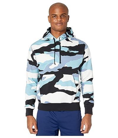 Nike NSW Club Hoodie Pullover Camo (Cerulean/Black/Black) Men