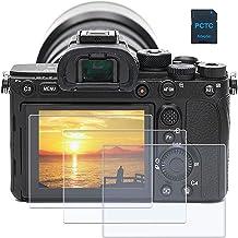 محافظ صفحه نمایش PCTC برای Sony Alpha A9 a7II a7R II a7S II Mark II 2 a7R Mark III 3 a7iii Cyber-Shot DSC-RX100 RX100 VI II III IV V Mark 1/2/3/4/5 DSC-RX10 RX10 Mark III 3 IV 4 (3 بسته)