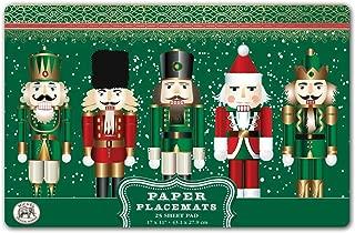 Michel Design Works 25 Count Paper Placemats, Nutcracker