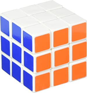 Lanlan Magic 3X3x3 Sticker Speed Cube White Puzzle