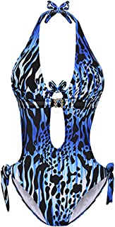 Monokini Swimsuit for Women One Piece Bathing Suits Tummy Control Cutout