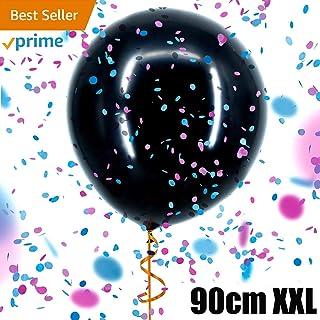 fa571af08a9b1 Tds Ballon Révélateur de Genre XXL Annonce Sexe bébé Garçon ou Fille  Surprise Baby Shower 90Cm