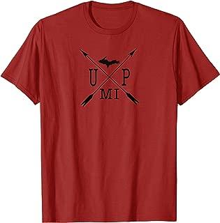 UP MI Upper Peninsula Michigan Graphic Yoopers 906 TShirt