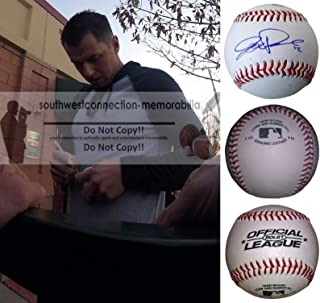 Joe Panik San Francisco Giants Autographed Hand Signed Baseball with Exact Proof Photo of Signing, COA, New York Mets- SF Giants Collectibles
