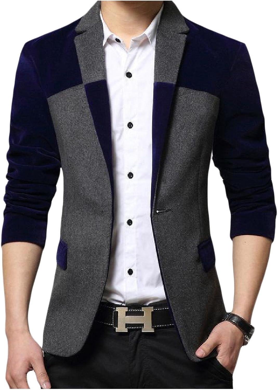 Lutratocro Mens 3D Print Lapel Neck Slim Long Sleeve Button Down Shirts