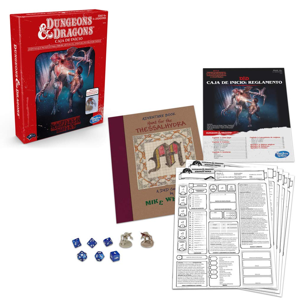 Stranger Things Dungeons and Dragons (Hasbro 5010993642595): Amazon.es: Juguetes y juegos