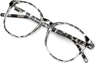 Customize Prescription Blue Light Blocking Glasses/Polarized Sunglasses-Dark Grey, Handmade Eyewear for Women/Men 0.00 (No...