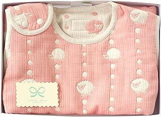 Hoppetta 6重ガーゼ スリーパー ギフトセット ピンク (キッズサイズ) 18111043 赤ちゃん