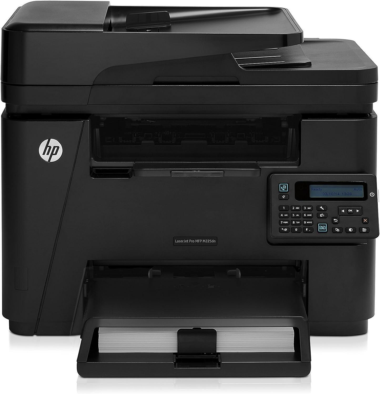 HP Laserjet Pro M225dn Monochrome Printer with Scanner, Copier and Fax, Amazon Dash Replenishment Ready (CF484A) (Renewed)