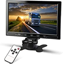 RUPSE 10.1 inch HD IPS 1024600 TFT LCD Car Backup Rearview Reversing Monitor CCTV Security Monitor Support HDMI VGA AV Wireless Mobile Phone Mirror Link for Backing Parking