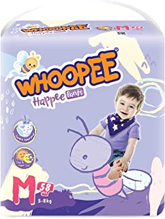 Nepia Oji Whoopee Pants M58, 58 count